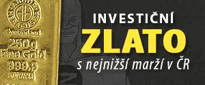 Zlaťák.cz - nejlevnější investiční zlato